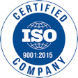 Certified ISO Company logo
